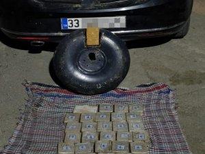 LPG deposunda 20 kilo eroin ele geçirildi