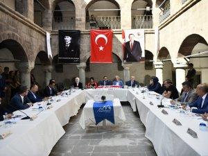 KSPK ikinci toplantısını Hakkâri'de gerçekleştirdi