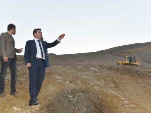 Vali Yardımcısı Duruk, Kayak merkezinde incelemelerde bulundu