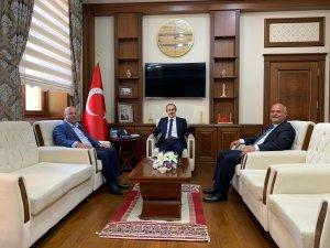 Başkan Er'den Vali Epcim'e ziyaret