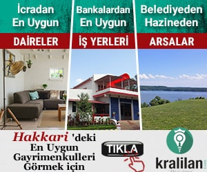 Bankadan satılık daire Hakkari, Yüksekova