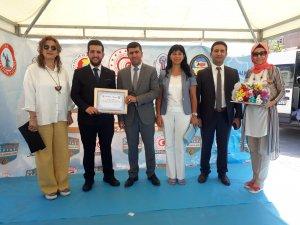 Homan Demirel Türkiye üçüncüsü oldu