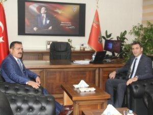 Vali Akbıyık'tan Emniyet Müdürü Aydın'a ziyaret