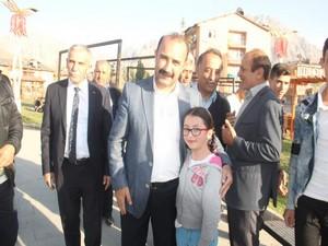 Başkan Karaman'dan kent park ve esnaf ziyareti