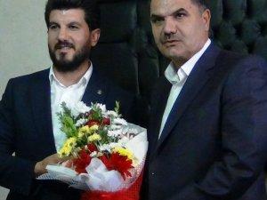 AK Partili Başkana görkemli karşılama...