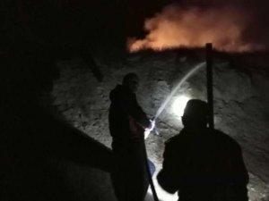 Hakkari-Van karayolunda yangın