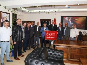 Başkan Er'den Hakkari Emniyet Müdürüne ziyaret