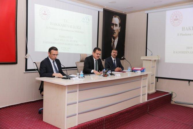 4. Dönem ilk koordinasyon kurulu toplantısı yapımdı