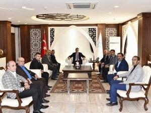 Başkan Er'den Vali Akbıyık'a ziyaret