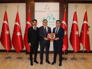 Dernek Başkanı Keskin'den Vali Akbıyık'a ziyaret