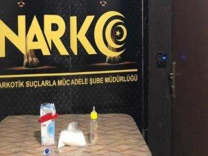 Süt kutusu içerisinde uyuşturucu sevkıyatı