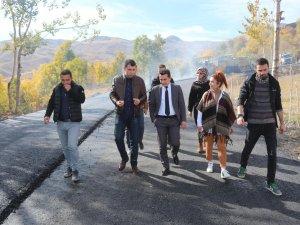 Vali Yardımcısı Duruk asfalt çalışmalarını denetledi