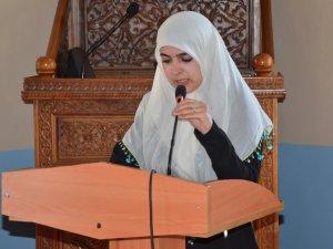 """Kız Anadolu İmam Hatipten """"Mevlit"""" programı"""