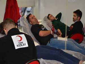 Hakkari'de  kan ve kök hücre bağışı kampanyası başladı