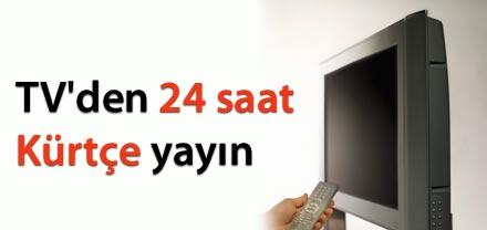TV DE 24 SAAT KÜRÇE YAYIN YAPILACAK