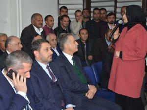 Ak Parti heyeti Hakkari'de incelemelerde bulundu