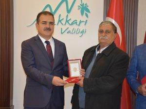 Hakkari'de Kıbrıs gazilerine madalya ve berat verildi