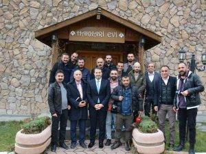 Başkan Gür, gazetecilerle kahvaltıda bir araya geldi