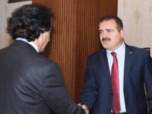 Gazeteci Taş'tan Vali Akbıyık ile röportaj