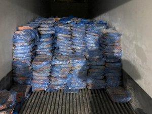 Kaçak 23 ton kuzu ciğeri yakalandı