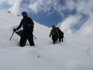 Dağcılar CİSAD dağına tırmandılar