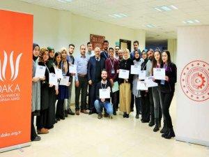 DAKA'nın sosyal girişimcilik eğitimleri devam ediyor