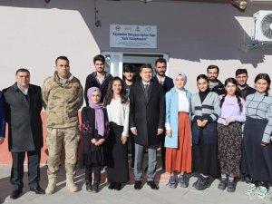 Kaymakam Öztürk'ten Çığlı köyüne ziyaret
