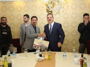 Gazeteci Feyzullah Taş yılın gazetecisi seçildi