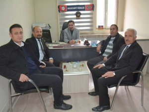 Muhtarlardan KGK temsilcisi Taş'a ziyaret