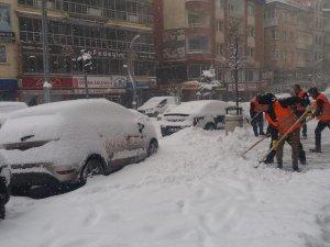 Hakkari'de kar esareti