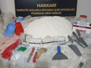 Yüksekova: 30 kilo 500 gram eroin ele geçirildi