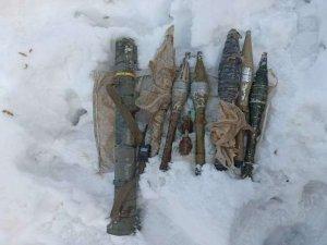 Derecik kırsalında AT-40 füzesi ele geçirildi