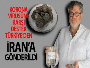 İran'a korona virüsüne karşı taş suyu ile destek Türkiye'den