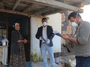 Çukurca Belediyesinden yardım dağıtımı