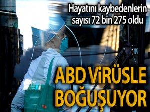ABD virüsle boğuşuyor