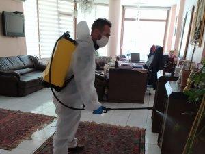 Hukuk büroları dezenfekte edildi