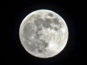 Yüksekova'da 'Süper Ay' görüntülendi