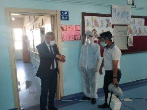 Hakkari'deki okullar merkezi sınava hazır