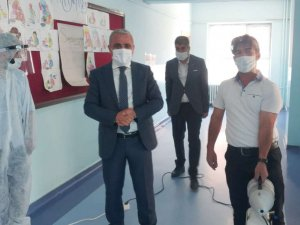 Hakkari'deki okullar LGS'ye hazır