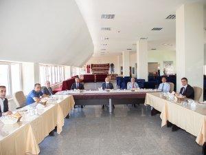 Sınav koordinasyon kurulu toplantısı yapıldı