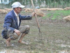 10 bin bağ ot ve bahçeler zarar gördü
