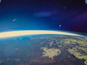 Kuyruklu yıldız uzaydan böyle görüntülendi
