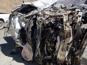 Trafik kazasında ölenlerin isimleri belirlendi