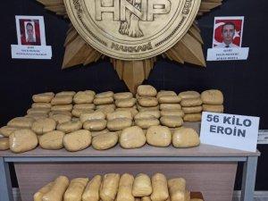 81 kilo 800 gram uyuşturucu ele geçirildi