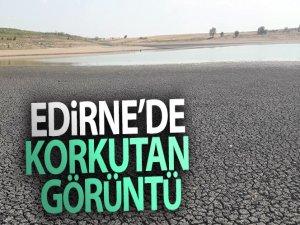Edirne'de korkutan görüntü