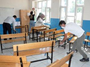 Öğretmenler okullarını eğitime hazırlıyor