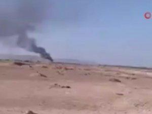 Askerleri taşıyan helikopter düştü: 4 ölü