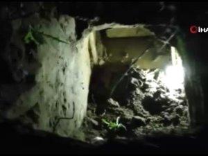 Tünel kazarak ceza evinden kaçtılar