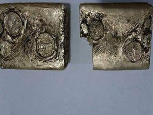 Yunan dönemine ait 5 kilo külçe altın ele geçirildi