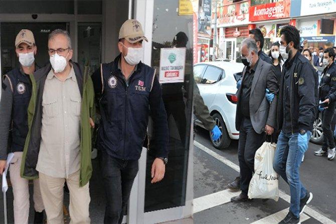 Çok sayıda HDP'li isim gözaltına alındı!
